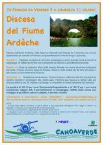 Discesa del fiume Ardèche