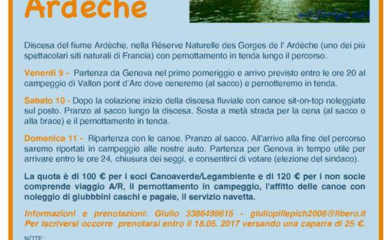 thumbnail of Volantino Ardeche