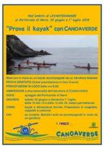 Prova il Kayak LEVANTEDAMARE