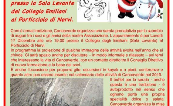 thumbnail of Volantino Serata Prenatalizia