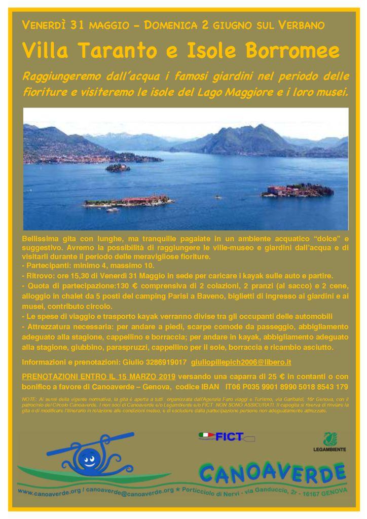 Villa Taranto e le Isole Borromee