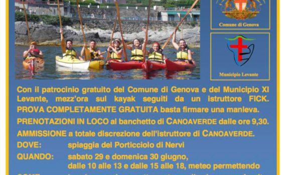 thumbnail of Volantino Prova gratis il kayak2019