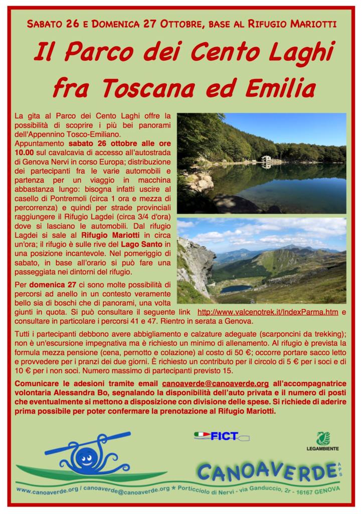 thumbnail of Volantino Cento Laghi 26-27 ottobre