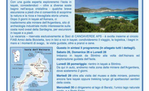 thumbnail of Volantino Asinara e Argentiera