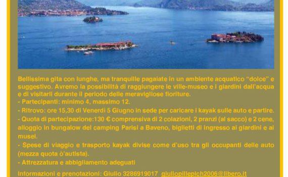 thumbnail of Volantino Lago Maggiore